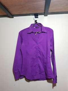 Kemeja ungu Marchie