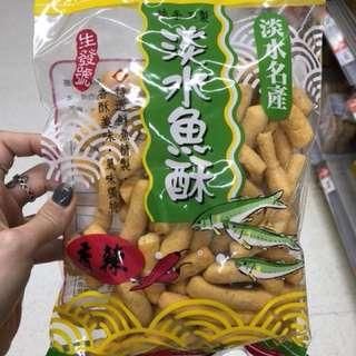 台灣代購🇹🇼生發號 淡水魚酥(原味、辣味)140g
