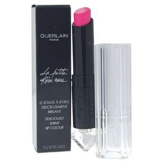 guerlain la petite robe noire deliciously shiny lip colour pink tie 002