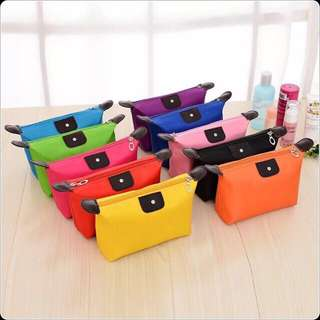 Makeup bag travel zip