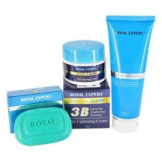 Royal Expert Whitening Cream Set