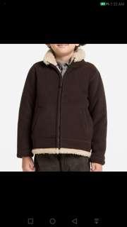 Uniqlo Blocktech Fleece Full Zip Long Sleeve Jacket  #feb50