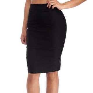 BNWT Black Pencil Skirt