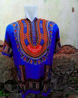 Kaos batik dashiki