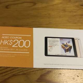 Apple Ipad $200 Coupon