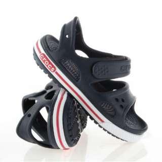 BNWT Kids' Crocs Crocband II Sandals J2