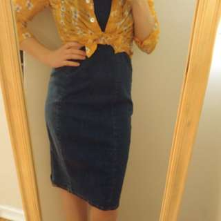 Vintage Jean Dress by The Jean People
