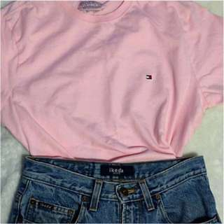 Tommy Hilfiger Baby Pink Tshirt