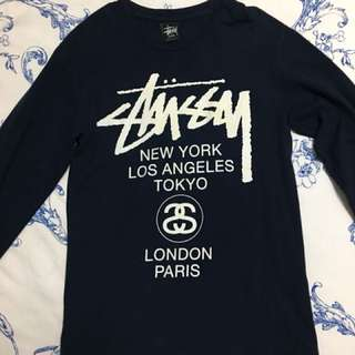Stussy Pullover in navy