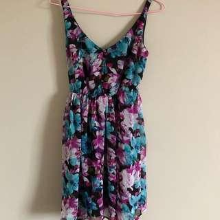 Floral dress (size 8)