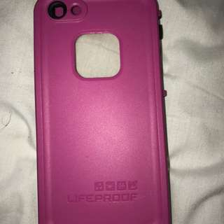 LIFEPROOF PINK CASE, iPhone 5