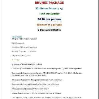 Brunei Package