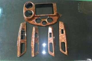 wood panel etios valco