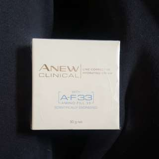 Anew clinical line corrector hydrating cream