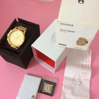 Nixon 20-48 chrono gold