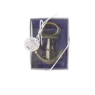 Anchor Beer Bottle Opener Vintage Antique Style Souvenir Gift Wedding Birthday Party Giveaway