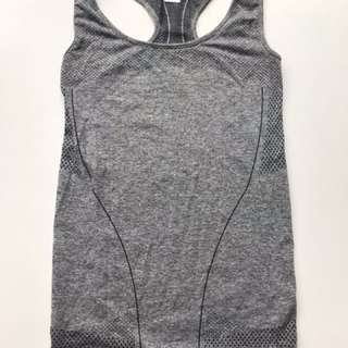 Grey exercise singlet Size 8