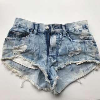 Denim Shorts Size XS