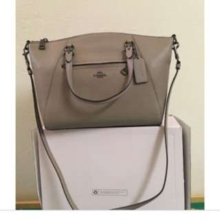 Coach prairie bag- stone color