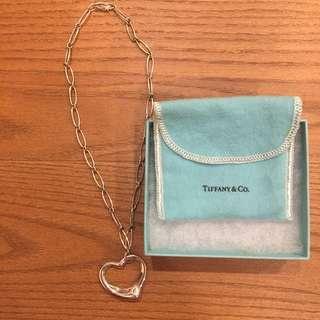 🚚 Tiffany&co 大愛心經典純銀項鍊