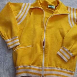 Yellow Zip Up KPOP