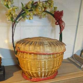 Rattan Gift Basket