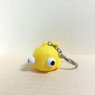 🚚 凸眼魚 鑰匙圈