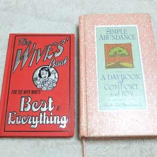 Lot of 2 books for wives