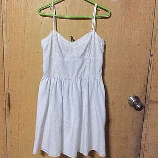 H&M little white dress