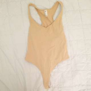 AA Nude Coloured Bodysuit XS