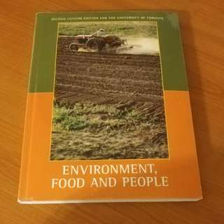 Environment food and people
