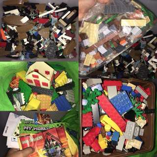 Mixed Lego, Crosswise, Cogo etc