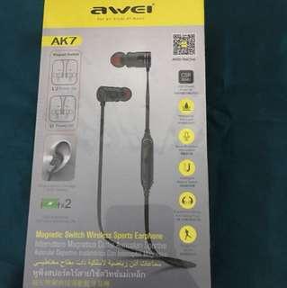 AWEI AK7 Bluetooth Headset