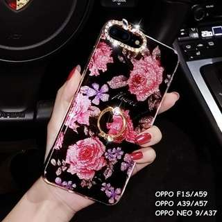 FOR OPPO F1S/A59, A39/A57, NEO 9/A37 - LUXURY GLAM ROSE