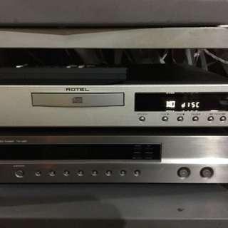 Rotel RCD 06 24 bit 192khz CD player