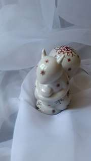 Villeroy and Boch squirrel Christmas ornament