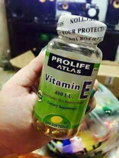 Prolife atlas vitamin e 400 i.u