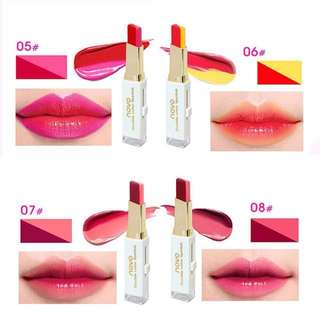 Newest version two tone lipbar from novo