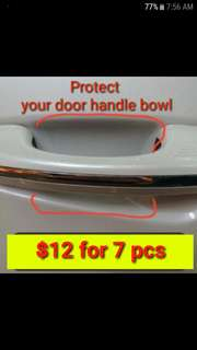 Car Door Handle Bowl Protector /Protection /Protect
