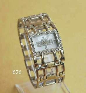 Jam tangan Bonia/jtr 626 silver