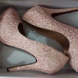 Peachy shoes
