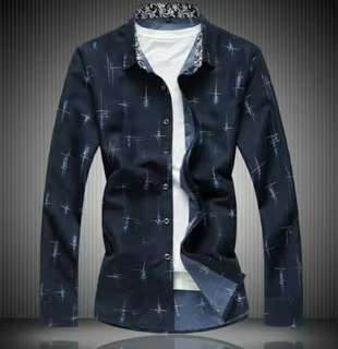 MFCYG8856 - Casual Button Up Shirt