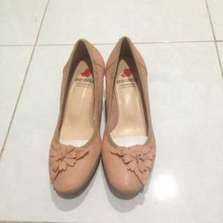 Mikaela Pink Nude Shoes (Made in Spain)