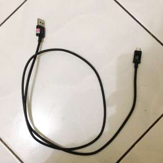 Kabel Samsung Ori + Power bank