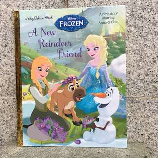 Frozen A new Reindeer Friend - Big Golden Book