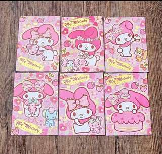 My Melody Angpows