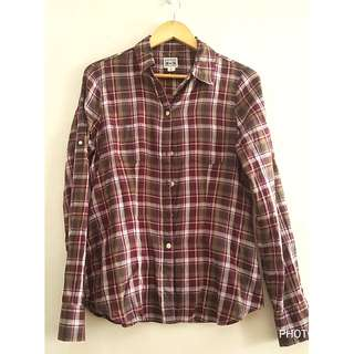 Authentic Converse Plaid Long Sleeves