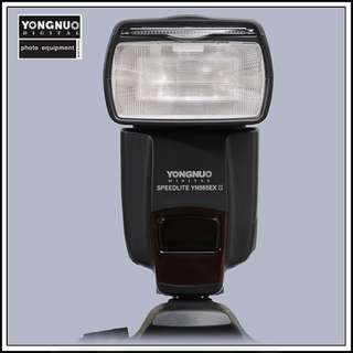 YONGNUO 568EX II TTL flash for Canon