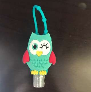 BN Sealed Hand sanitizer with Owl Holder