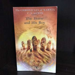 "Preloved Novels ""The Chronicles of Narnia"" THE HORSE AND THE BOY (Soft cover) Book"